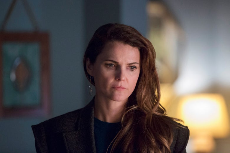 Keri Russell as Elizabeth in The Americans.