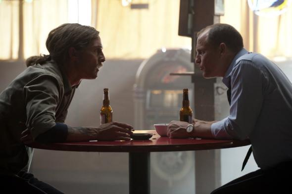Rust (Matthew McConaughey and Marty (Woody Harrelson) in True Detective