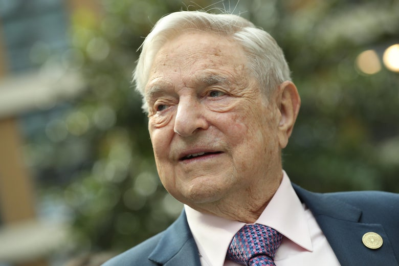 George Soros attends the official opening of the European Roma Institute for Arts and Culture (ERIAC) at the German Foreign Ministry on June 8, 2017 in Berlin, Germany.