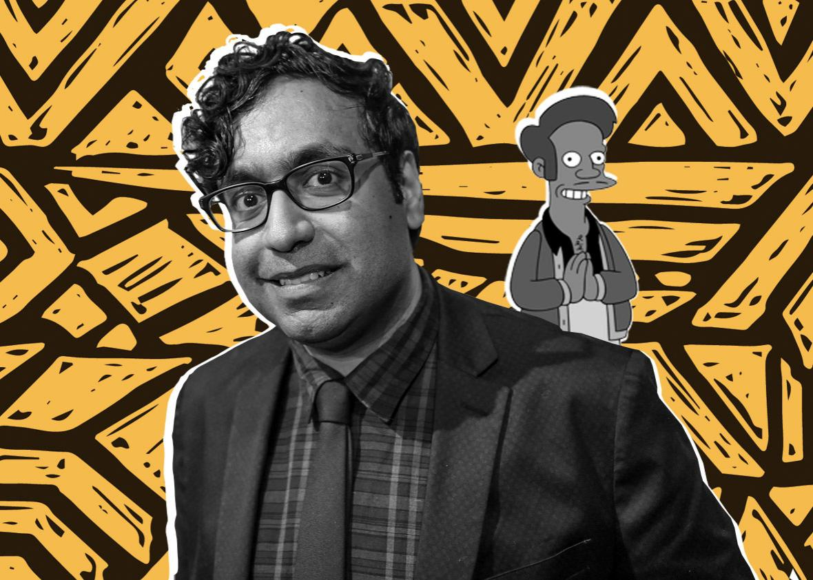 Comedian Hari Kondabolu doesn't like the representation of Apu from the Simpsons