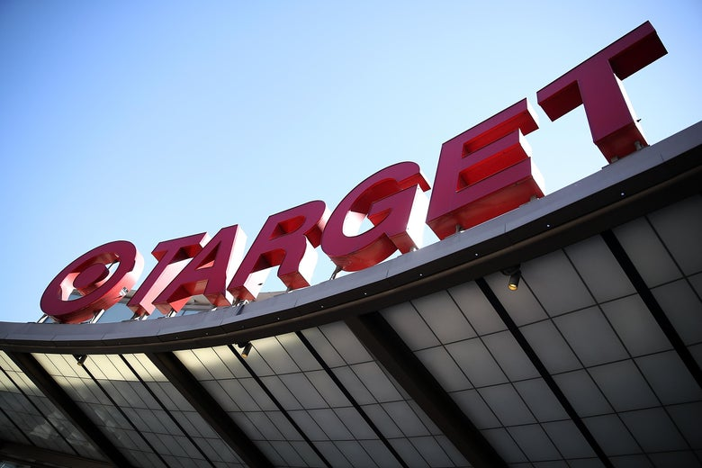 LOS ANGELES, CA - FEBRUARY 28:  A sign is posted on the exterior of a Target store on February 28, 2017 in Los Angeles, California. Target reported a 4.3 percent decline in fourth quarter earnings with revenue of $20.69 billion compared to $21.63 billion one year ago. Target stock fell over 12 percent on the news.  (Photo by Justin Sullivan/Getty Images)
