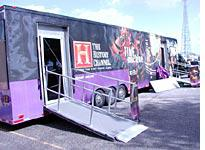 The History Channel's mobile museum