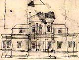 Drawing of Monticello