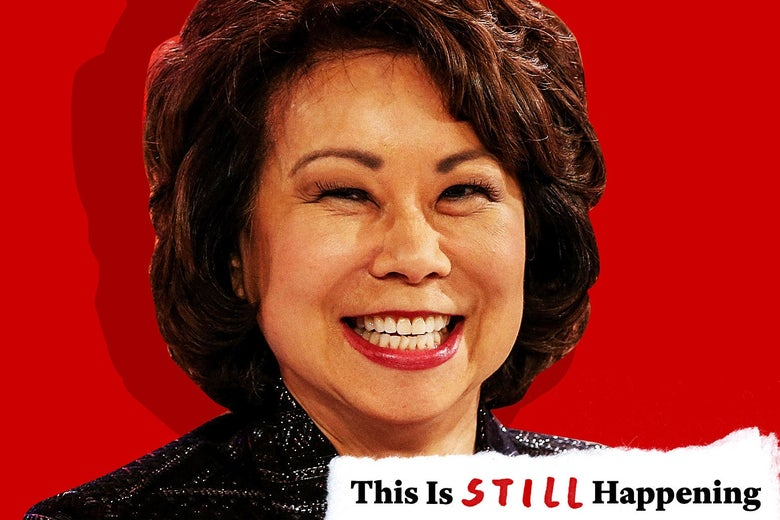 Portrait of Elaine Chao.
