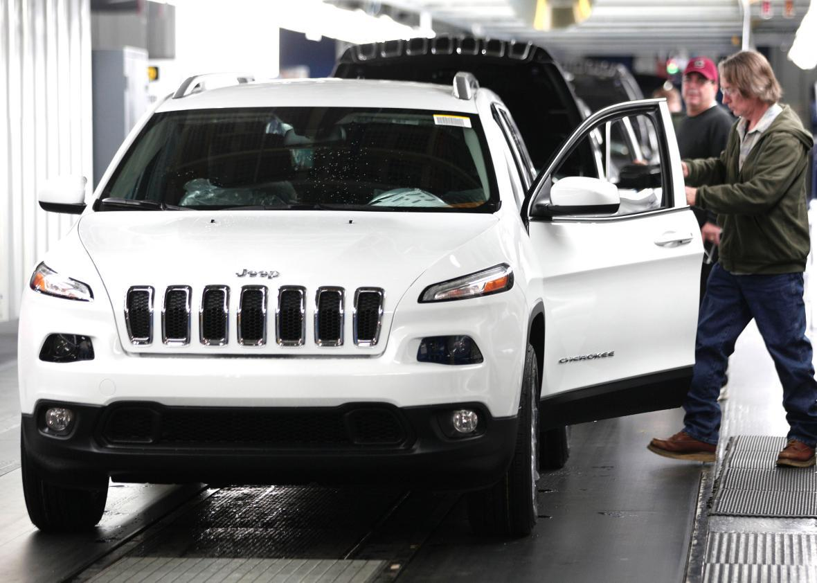 Fiat Chrysler Recalls 1.4 Million Cars After Hackers Commandeer Moving Jeep