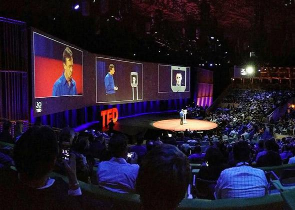 Edward Snowden made an appearance on the #TED2014 stage on March 18 via BEAM, a telepresence robot.