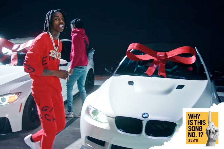 "Polo G in the ""Rapstar"" video."