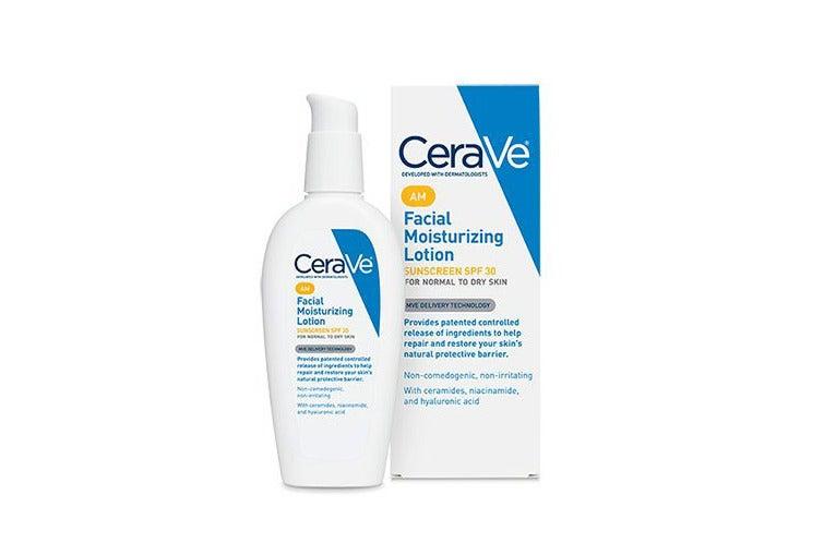 CaraVe facial lotion.