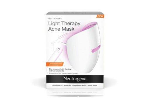 Neutrogena light therapy mask.