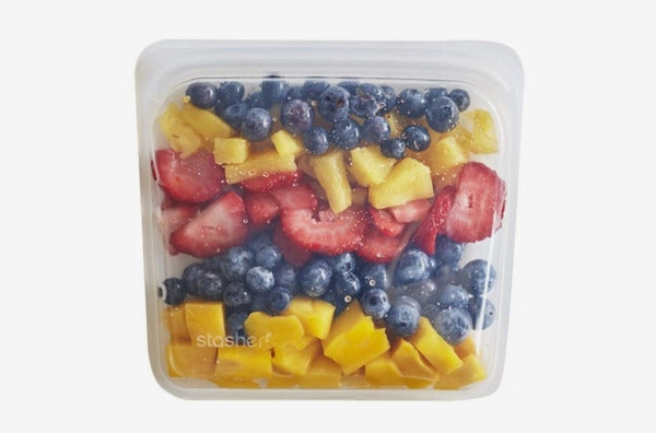 Stasher Reusable Silicone Food Bag.