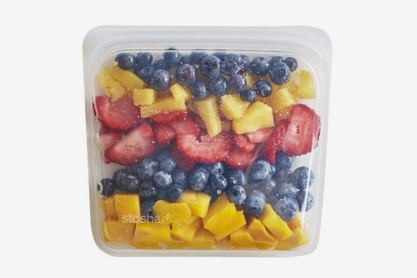Stasher Reusable Silicone Food Bag.