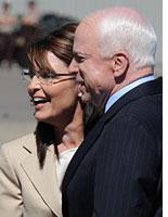 Sarah Palin and John McCain. Click image to expand.