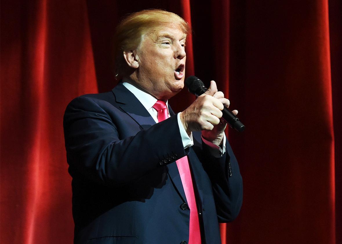Fiery Trump.