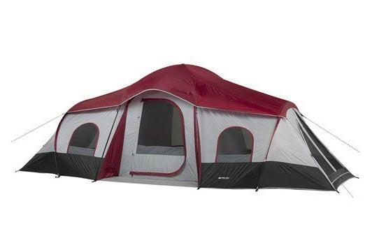 Ozark Trail Ten-Person Three-Room XL Family Cabin Tent.