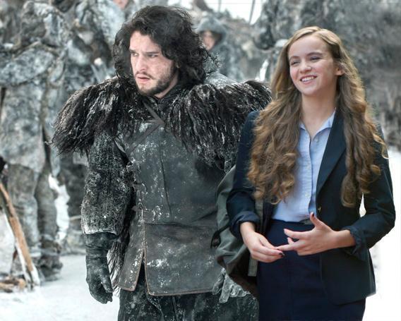 Jon Snow and Dana Brody.