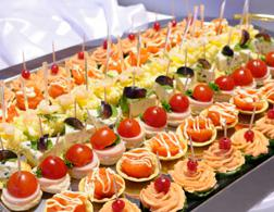 Appetizer platter. Click image to expand.
