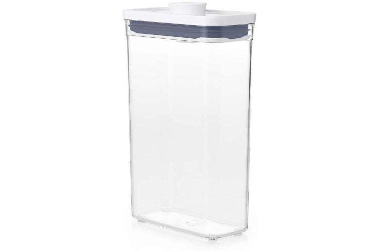 Tall airtight food container