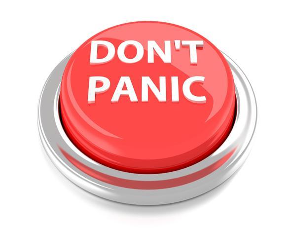 Son't panic!
