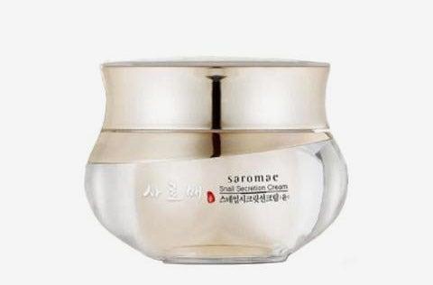 SMD Cosmetics Saromae Hydrating Snail Secretion Cream.
