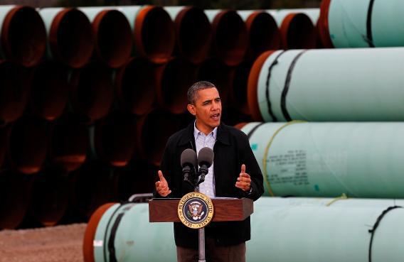 Obama speaks at Keystone XL pipeline