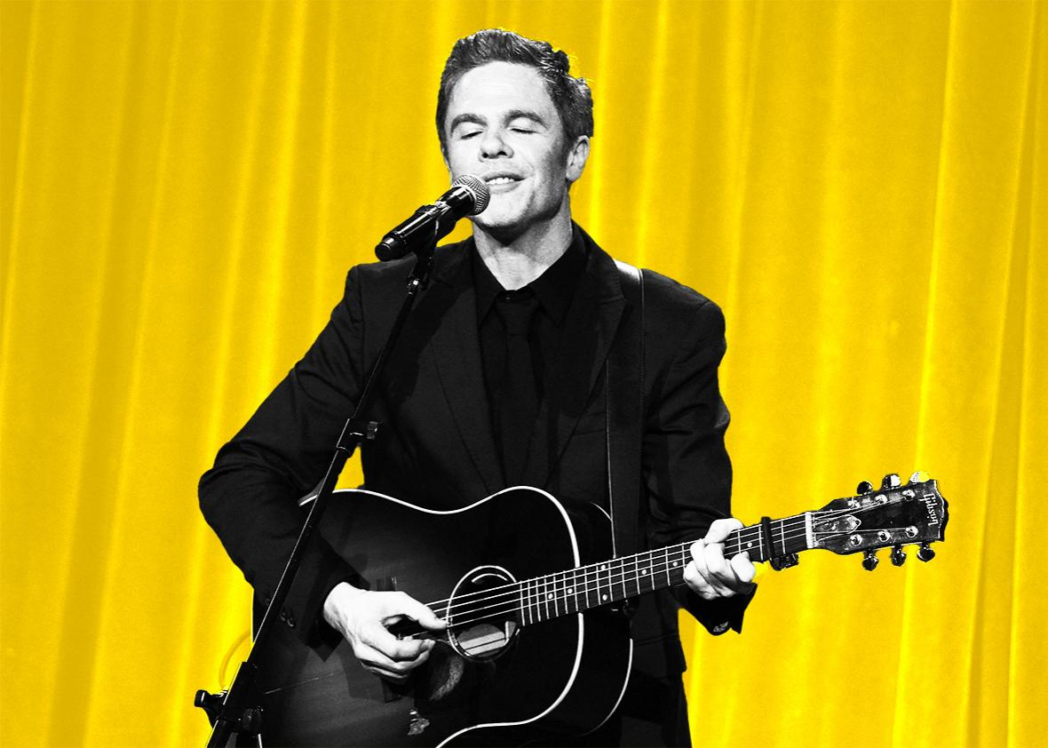 "Singer-songwriter Josh Ritter perform onstage during the Christopher & Dana Reeve Foundation hosts ""A Magical Evening"" at Cipriani Wall Street on November 17, 2016 in New York City."