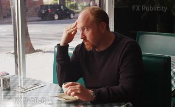 Louis C.K. in Season 3 of Louie.