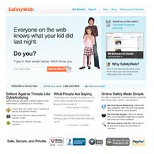 Click to go to Safety Web.