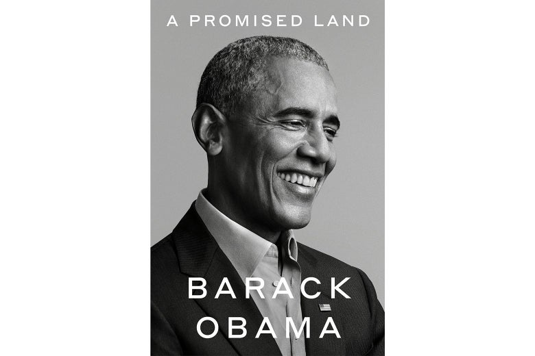 The cover of A Promised Land.