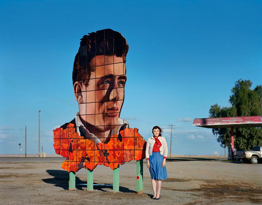 James Dean's Last Stop, Lost Hills, CA