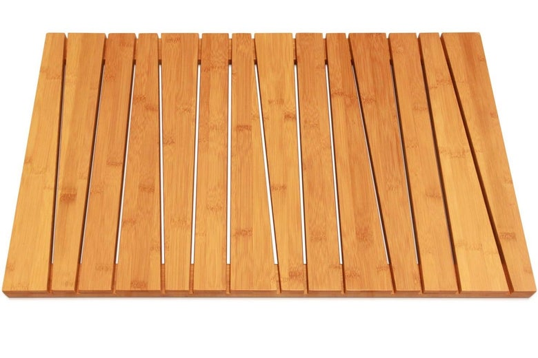 ToiletTree Products Bamboo Bath Mat
