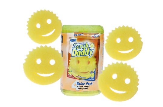Scrub Daddy Scratch-Free Sponges.