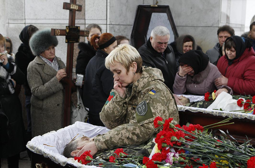 Feb. 2, 2015: Kiev, Ukraine