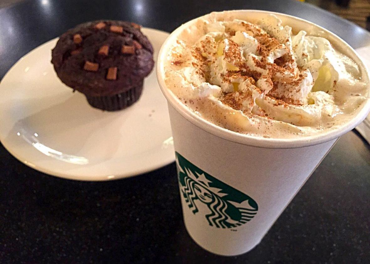Starbucks Pumpkin Spice Latte.