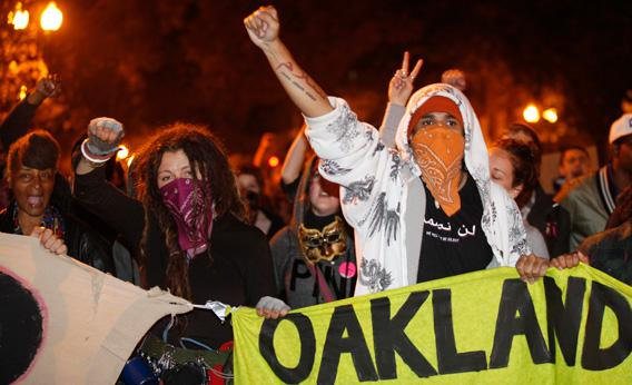 Occupy Oakland.