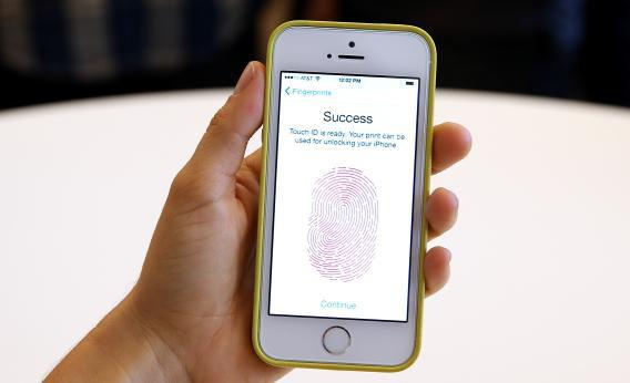 iPhone 5S fingerprint sensor
