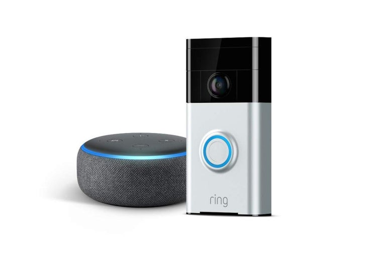 Ring Video Doorbell + Echo Dot (3rd Gen)