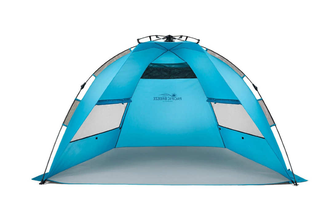 Pacific Breeze Easy Up Beach Tent.