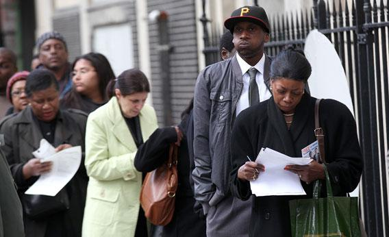New York State Government Hosts Job Fair In Brooklyn.
