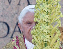 Pope Benedict XVI . Click image to expand.