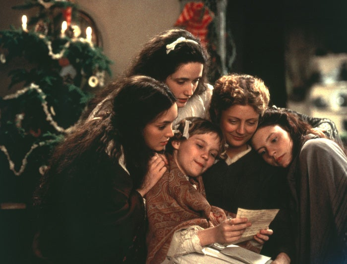 Claire Danes, Winona Ryder, Susan Sarandon, Kirsten Dunst, and Trini Alvarado in Little Women (1994)