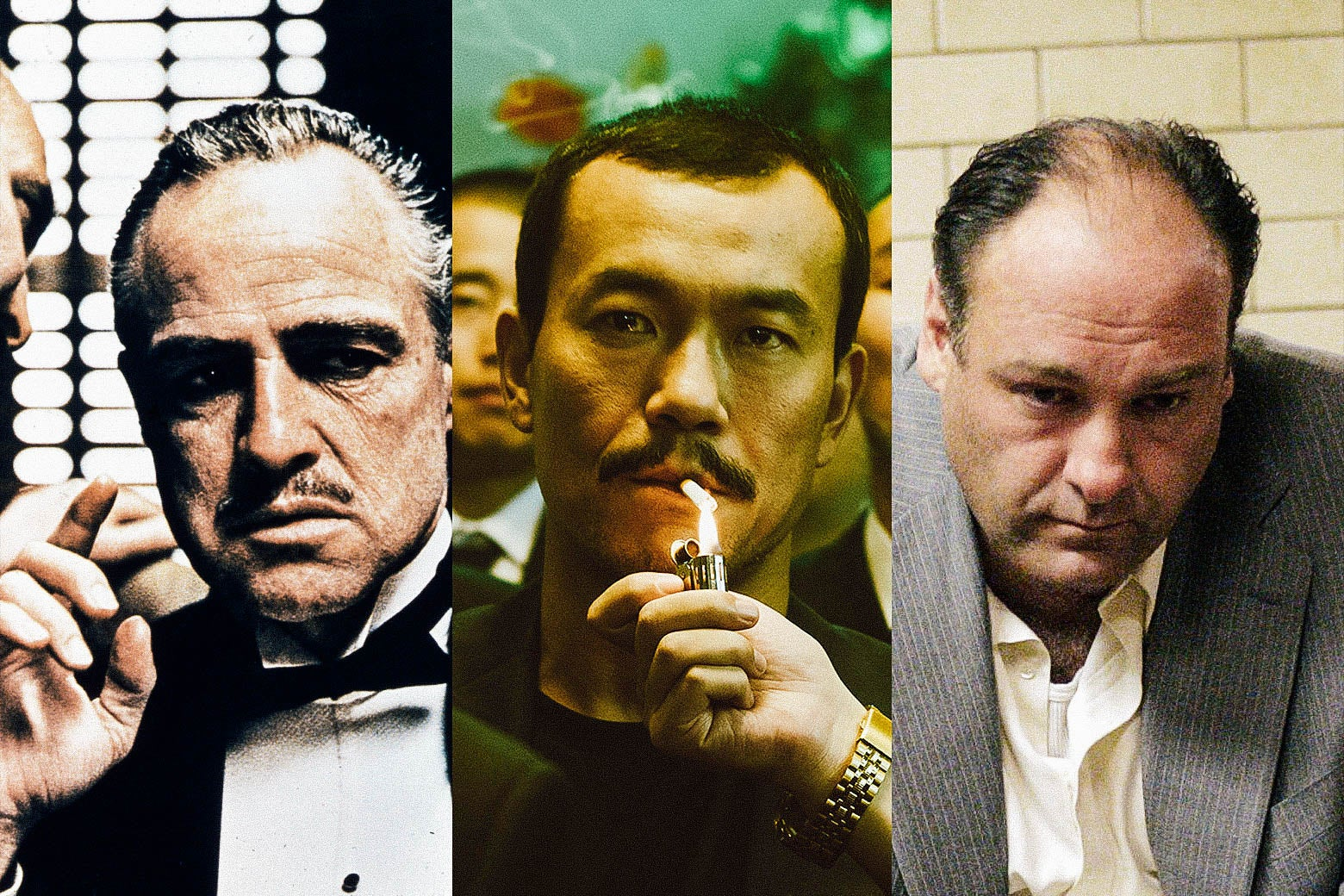 The Godfather, Ash Is Purest White, and The Sopranos.