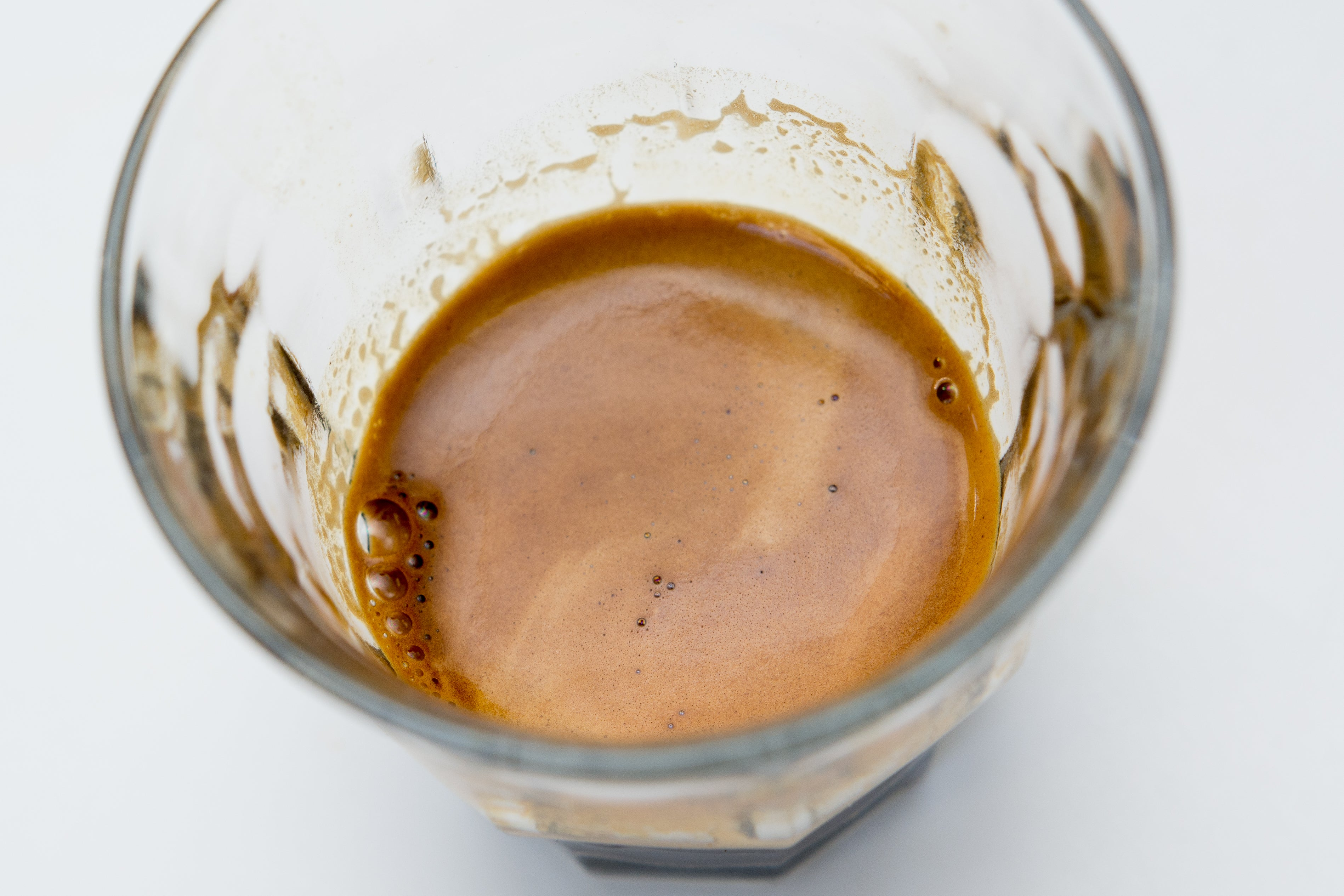Coffee shot in glass