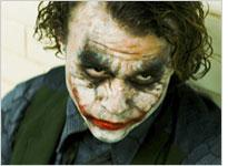 Heath Ledger as the Joker. Click image to expand