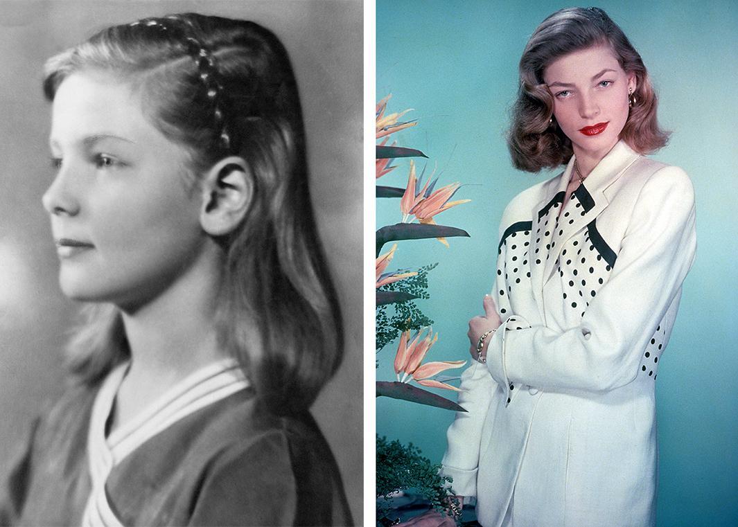 Lauren Bacall, 1934, 1955