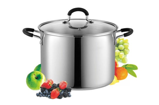 Cook N Home 8 Quart Stainless Steel Stockpot.