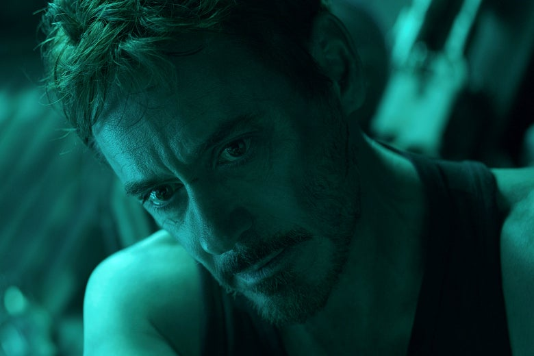 Robert Downey Jr. in Avengers: Endgame.