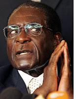 President Robert Mugabe. Click image to expand.