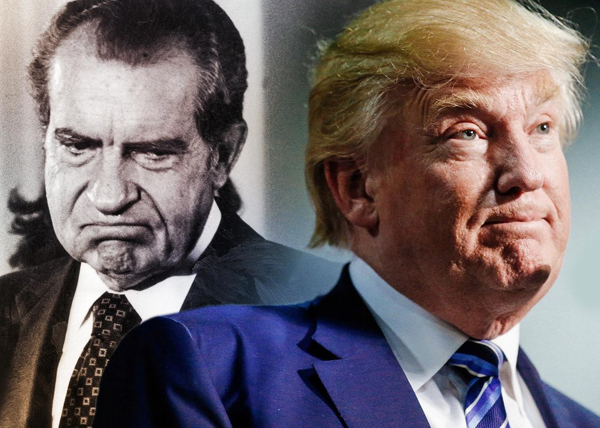 Richard Nixon, Donald Trump.