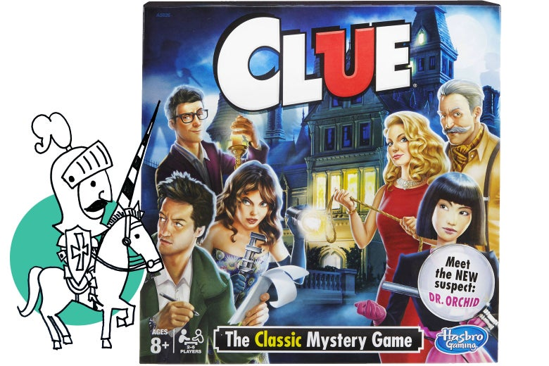 Clue lets mystery-obsessed kids play games with murder