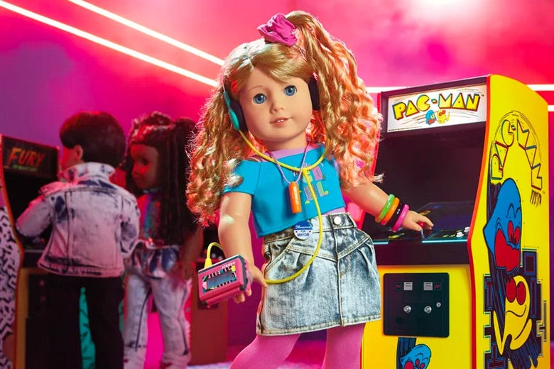 "American Girl's New Doll ""Courtney"" Is the Game Developer the '80s Needed"